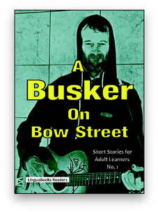 A Busker on Bow Street